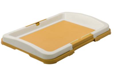 ЗооУан Туалет для собак P102 с креплением под пеленки, 48*35*6 см, в ассортименте, ZooOne
