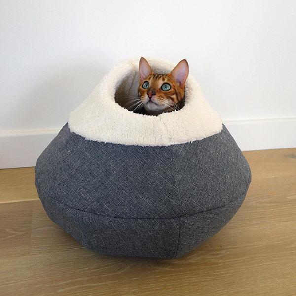 Роузвуд Домик-пещера для кошек круглый 40 см, Rosewood