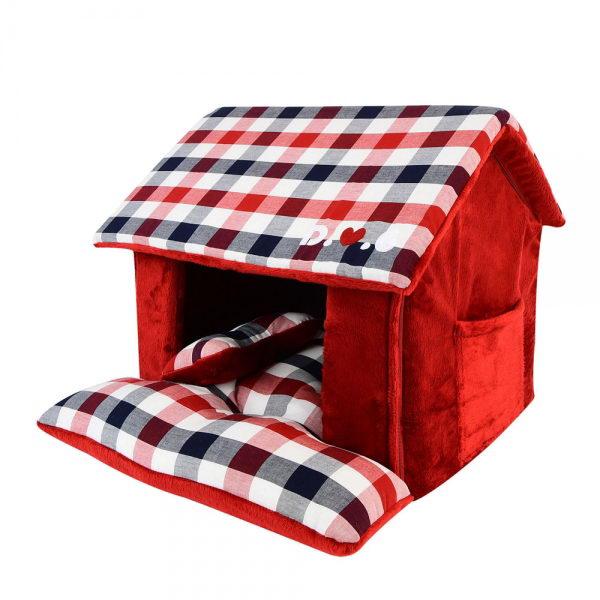 Паппи Домик-пещера Beaufort House для собак и кошек 43*40*36 см, в ассортименте, Puppia
