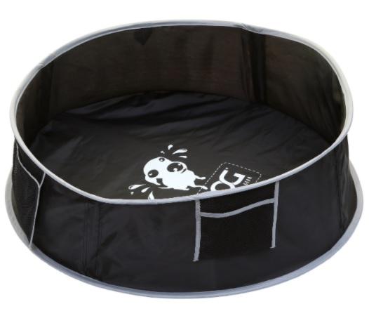 Дуг Бассейн уличный для собак, в ассортименте, черный, Doog