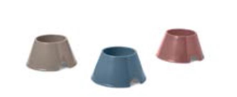 Савик Миска высокая пластиковая для спаниелей и других собак Picnic Spaniel, 700 мл, в ассортименте, Savic