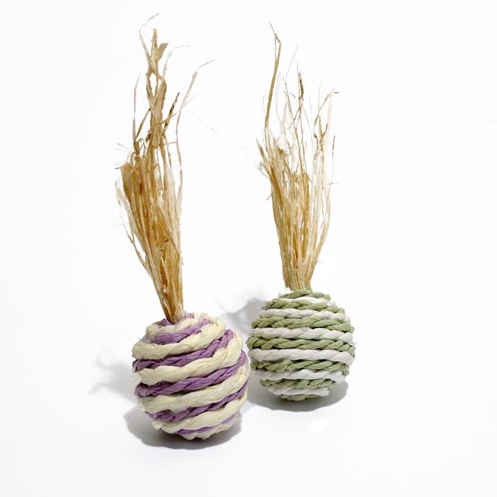 Роузвуд Игрушка для грызунов Мячики, кукуруза, 2 шт, в ассортименте, Rosewood