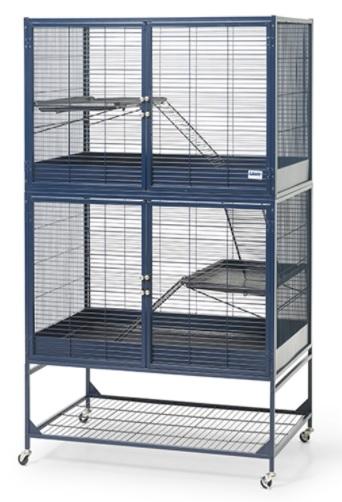 Савик Клетка Suite Royale для хорьков и грызунов 95*63*120/159 см, темно-синяя, Savic