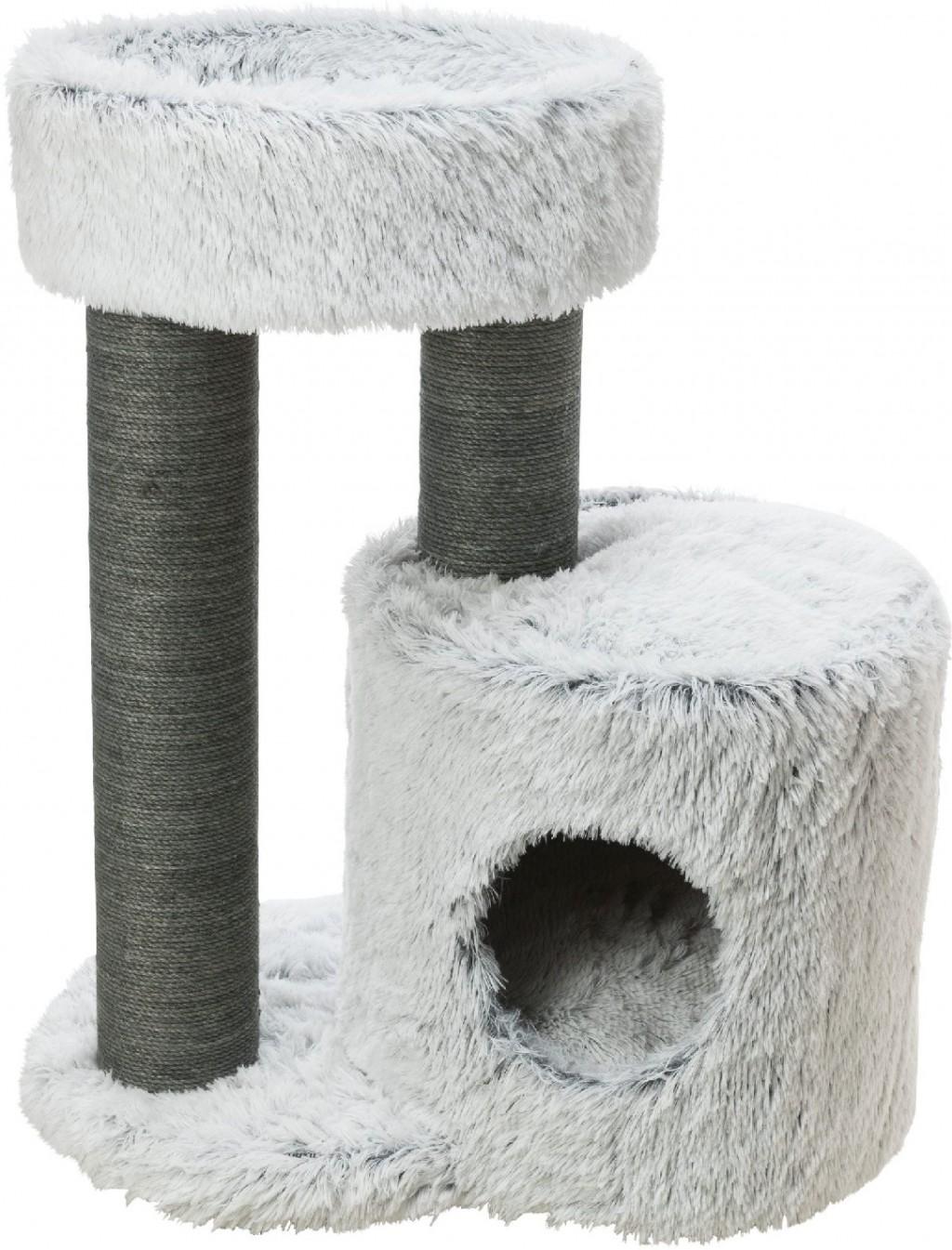 Трикси Домик-когтеточка для кошек Harvey 54*40*73 см, в ассортименте, Trixie