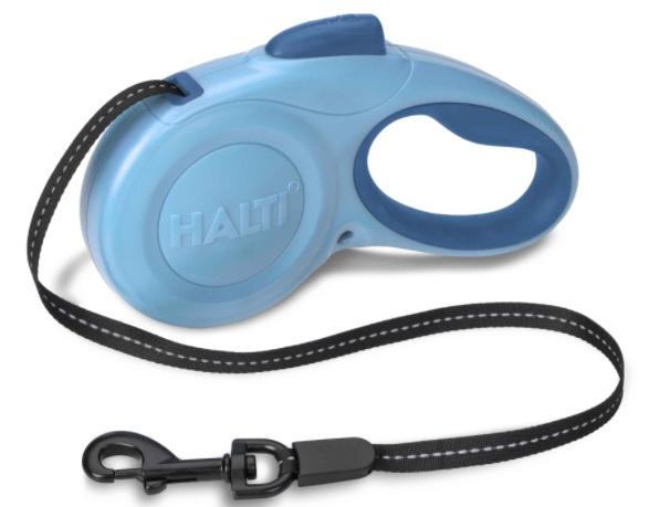 Рулетка для собак HALTI Retractable Lead лента, в ассортименте, голубая, Company of Animals