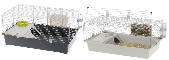 Ферпласт Клетка Rabbit 100 для кроликов и морских свинок, 95*57*46 см, в ассортименте, Ferplast