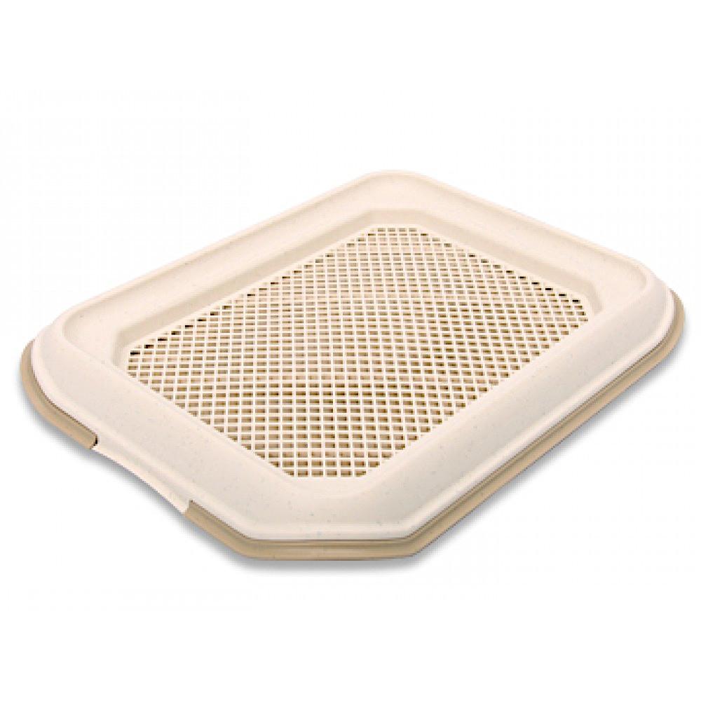 КэтИдея Туалет с сеткой и рамкой NO7 для щенков и собак 50*37*6 см, в ассортименте, Catidea