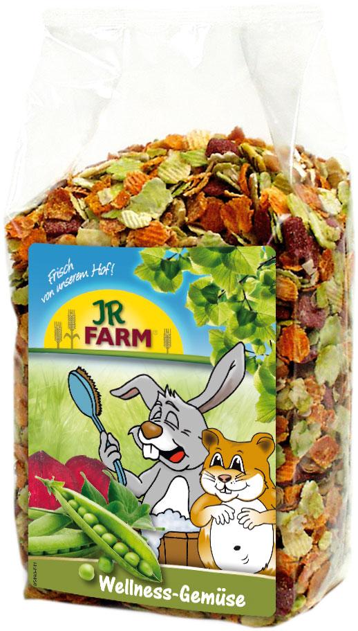 JR Farm Лакомство для грызунов Wellness Овощные хлопья, 600 г