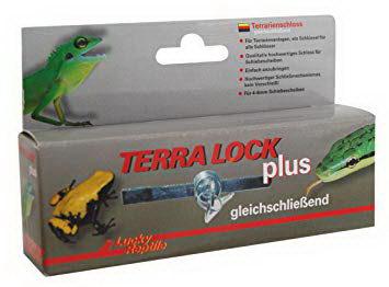 Лаки Рептайл Замок Terra Lock Plus для террариумов с раздвижными дверями, с ключом, Lucky Reptile