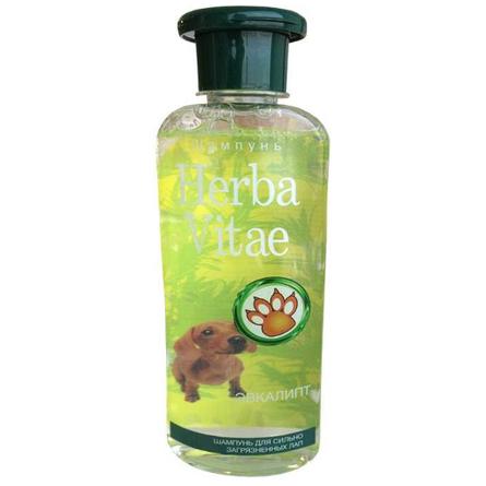 Херба Вита Шампунь для мытья сильно загрязненных лап Эвкалипт, 250 мл, Herba Vitae