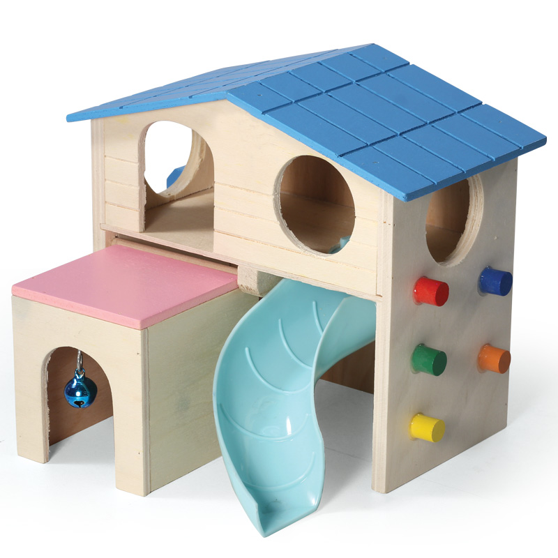 Триол Игровой комплекс для мелких животных Раздолье, 17*15*16 см, Triol