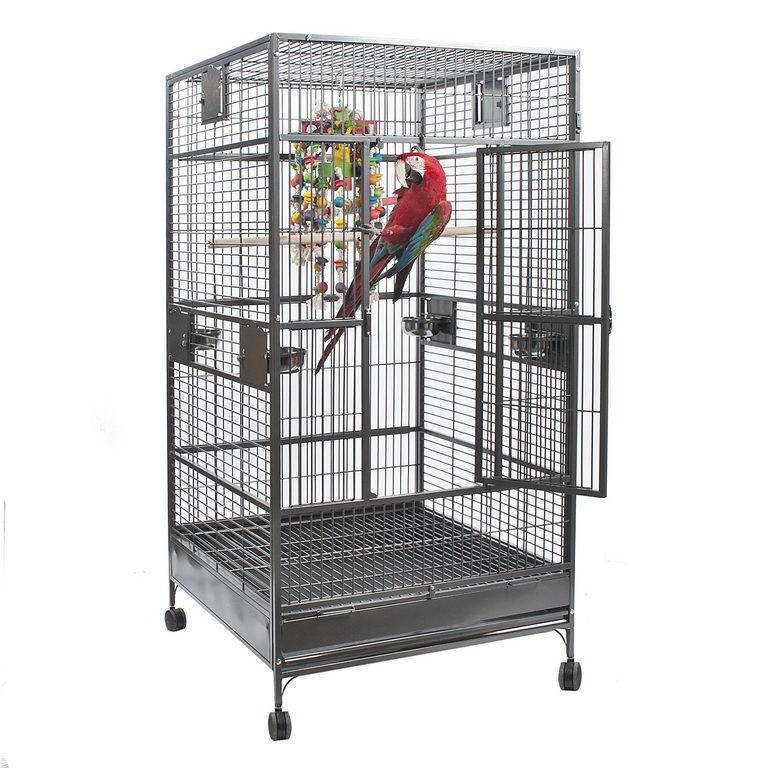 Скай Клетка-вольер Nova I для крупных птиц, 101*101*173 см, в ассортименте, вес 87,2 кг, Sky