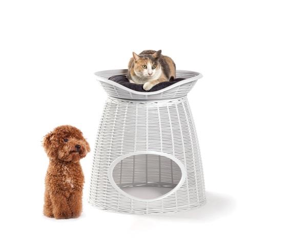 Бама Пет Домик Pasha с подушками, для кошек и собак, 52*60*46/55 см, в ассортименте, Bama Pet