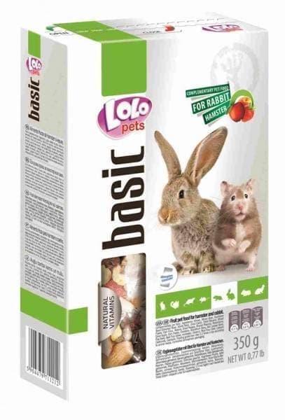 ЛолоПетс Корм для хомяков и кроликов в ассортименте, LoloPets