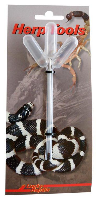 Лаки Рептайл Пипетка для обеспечения водой рептилий 3шт/уп,  Lucky Reptile
