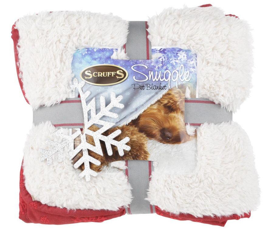 Скрафс Плед-одеяло Winter Snuggle для животных, 110*75 см, в ассортименте, Scruffs