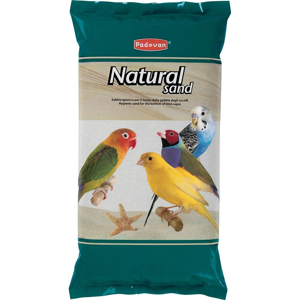 Падован Песок для всех видов птиц Natural Sand 5 кг, Padovan