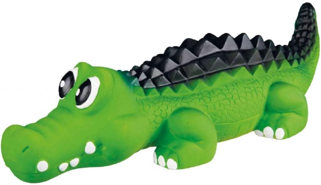 """Трикси Игрушка для собаки """"Крокодил"""", 35 см, латекс, Trixie"""
