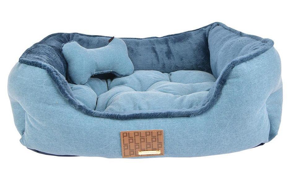 Паппи Лежак-софа Presley с косточкой для собак и кошек, 49*38*18 см, в ассортименте, Puppia