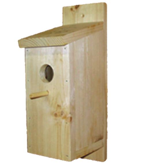 Грин Фарм Скворечник для уличных птиц И-611, 20*13*40 см, Green Farm