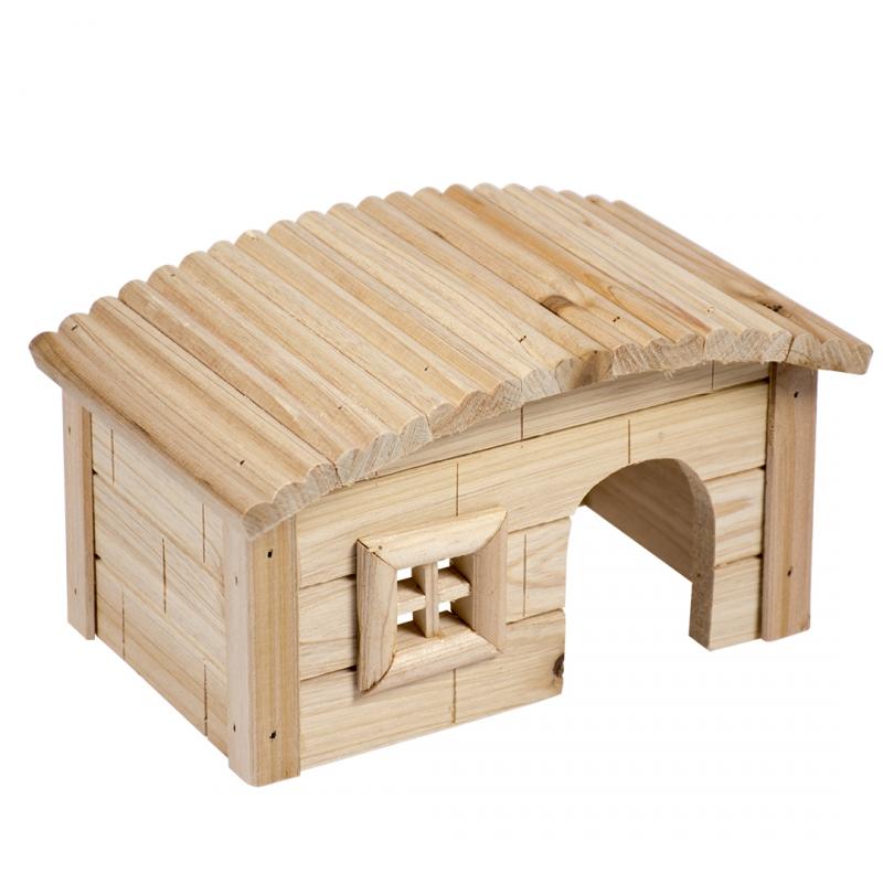 Дуво+ Дом с окошком для грызунов, 27*17*15 см, DUVO+