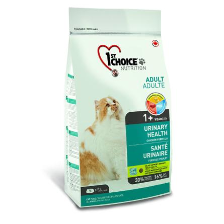 Корм Фест Чойс для кошек Urinary профилактика МКБ, Цыпленок, в ассортименте, 1st Choice