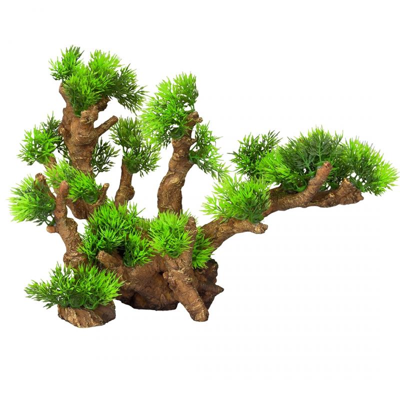 АкваДелла Декоративное растение Florascape 12 для террариумов и аквариумов, 33,5*16*27,5 см, AquaDella