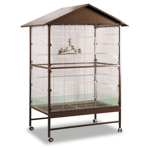 Монтана Клетка Villa Casa 120 для птиц, грызунов, хорьков, 119*81*144/205  см, в ассортименте, Montana