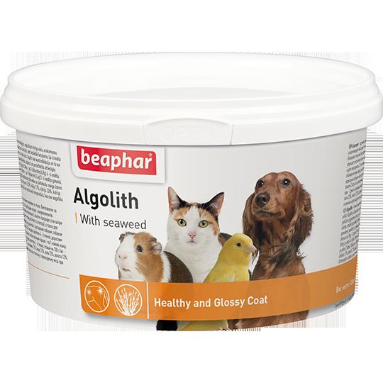 Беафар Кормовая добавка Algolith для кошек, собак и других домашних животных, 250 г, Beaphar
