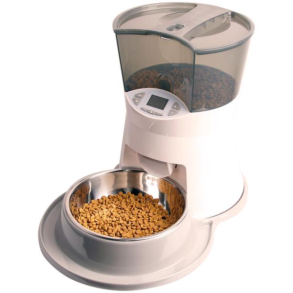 СуперДизайн Кормушка автоматическая PT0942 для собак и кошек, объем 2,5 л, SuperDesign