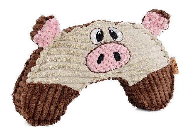 Эби Игрушка Хрюша мягкая для собак, 27*17,5 см, Europet Bernina International