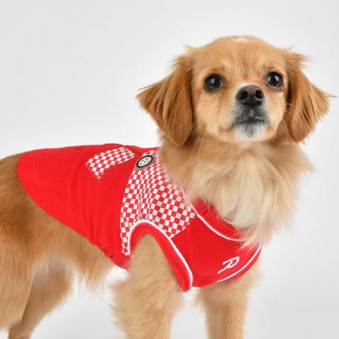 Паппиа Футболка Ralli красная для собак, в ассортименте, Puppia