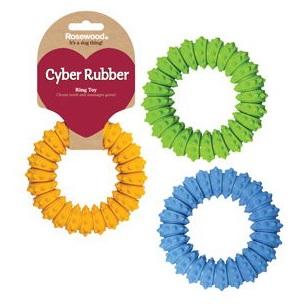Роузвуд Игрушка для собак Сyber Rubber в ассортименте, резина, Rosewood