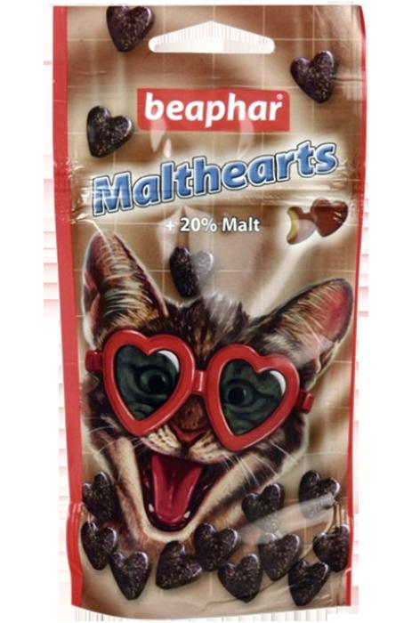 Беафар Лакомство Malthearts с мальт-пастой для кошек, 150 шт, Beaphar