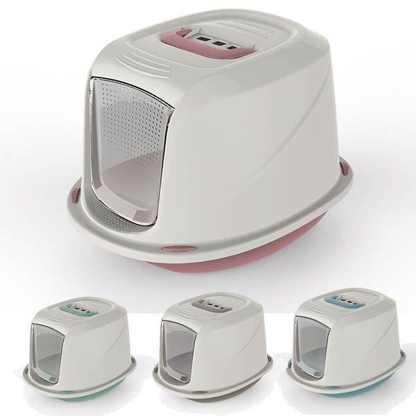 ГеорПласт Туалет-бокс GALAXY DELUXE с угольным фильтром, в ассортименте, 45*36*31,5 см, Georplast