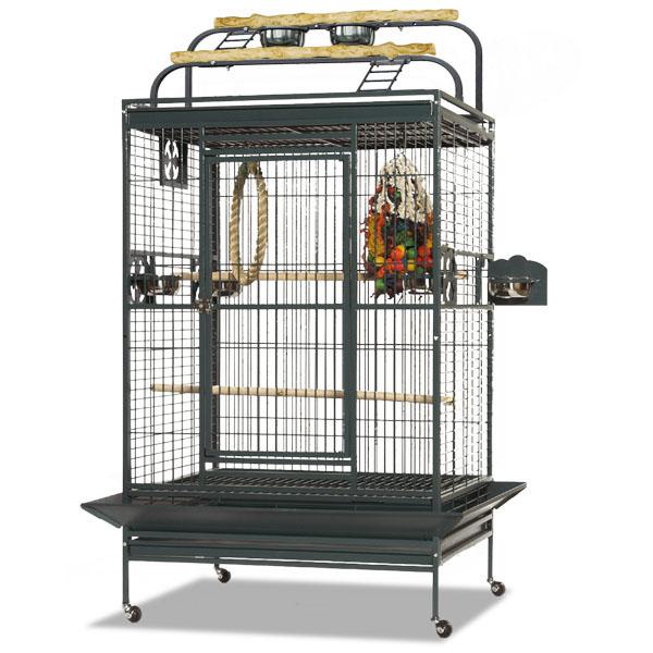 Монтана Клетка для грызунов и крупных птиц, обезьян Castell Play, 100*91*151/185 см, в ассортименте, Montana