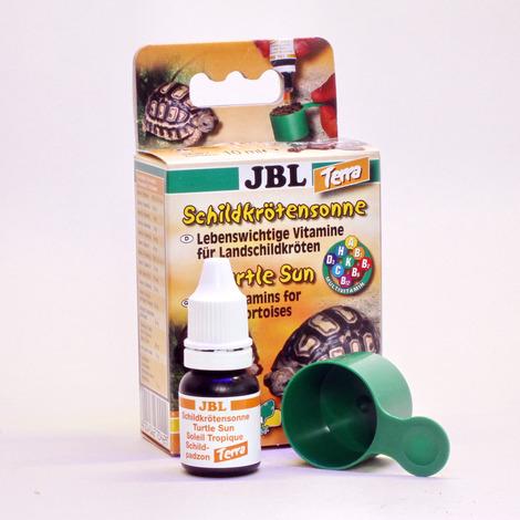 JBL Витамины Turtle Sun Terra для сухопутных черепах, 10 мл