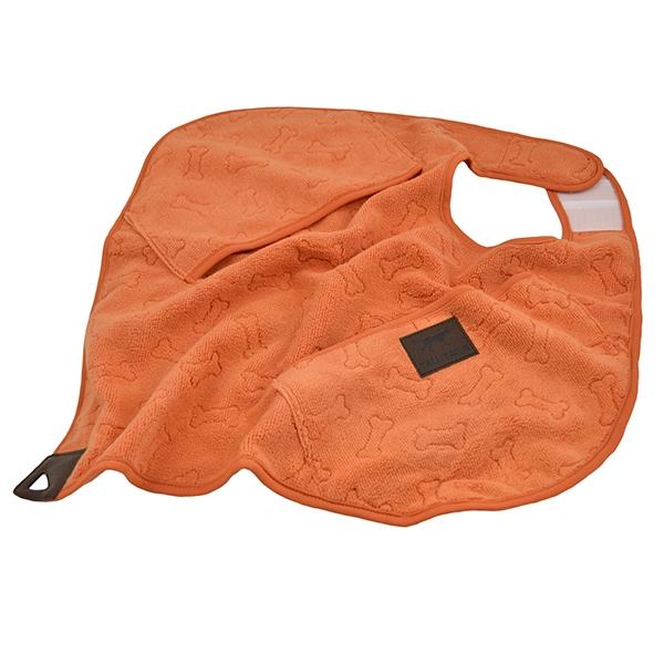 Роузвуд Полотенце Tall Tails из микрофибры для собак и кошек, в ассортименте, оранжевое, Rosewood