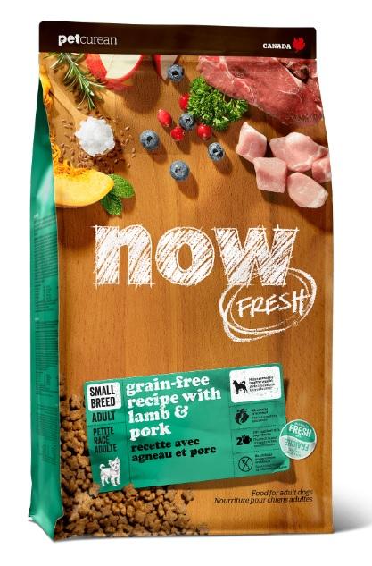 НАУ Корм беззерновой Holistic Small Breed для собак мелких пород Ягненок/Свинина/Овощи, в ассортименте, NOW Natural