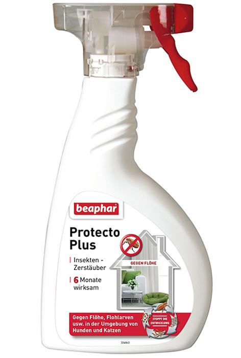 Беафар Спрей Protecto Plus для обработки помещений от паразитов, 400 мл, Beaphar