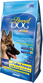 Корм Special Dog для собак Курица/Рис, 15 кг, Monge