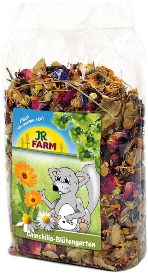 Jr Farm Лакомство для шиншилл Цветочный сад, 50 г