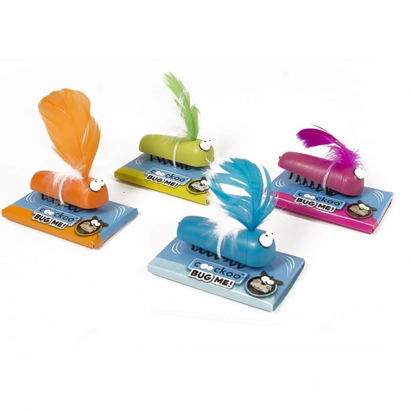 Эби Игрушка для кошек Поймай жука, на батарейках, цвет в ассортименте, Europet Bernina International