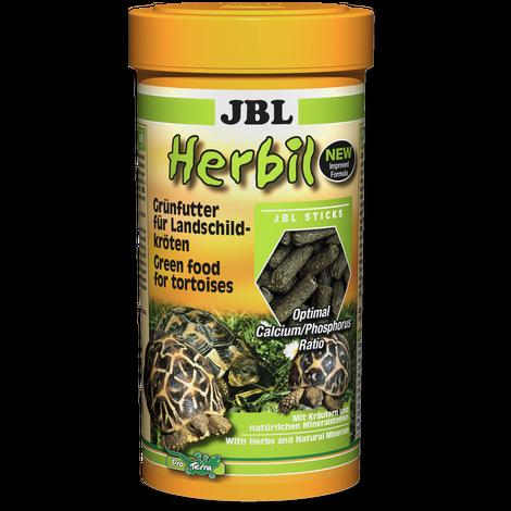 JBL Основной корм Herbil для сухопутных черепах размером 10-50 см, в ассортименте