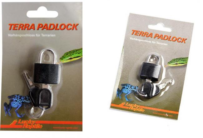 Лаки Рептайл Замок Terra Padlock для террариумов, навесной, с ключом, в ассортименте, Lucky Reptile
