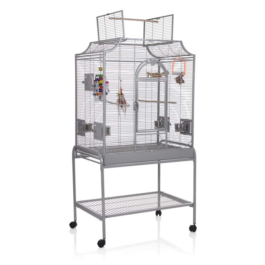 Монтана Клетка для птиц Madeira II на подставке 82*54*85/153 см, в ассортименте, Montana