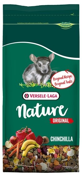 Верселе Лага Корм Nature Original Chinchilla для шиншилл, 750 г, Versele-Laga