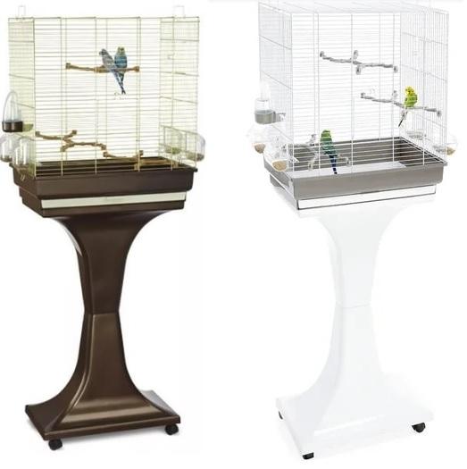 Имак Клетка Camilla для птиц, на подставке, 50*30*57/129 см, в ассортименте, Imac