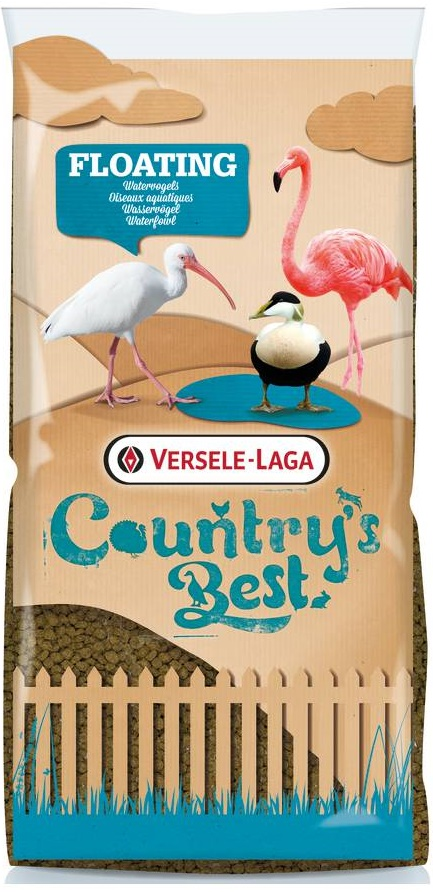 Верселе Лага Корм Country's Best плавающие гранулы для фламинго, 15 кг, Versele-Laga
