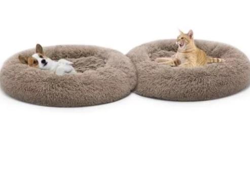 Доглэнд Лежанка круглая Premium, в ассортименте, Dog Land
